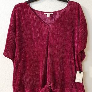 $40  NEW W/T WOMAN DANA BUTCHMAN TOP SIZE XXL,